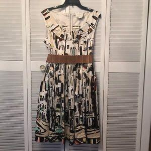 Beautiful Kate Spade Havana Landscape dress